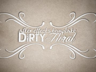 Diry Floral <p>AE template</p>