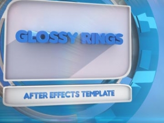 Glossy Rings <p>AE template</p>