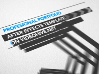 Professional Portfolio <p>AE template</p>